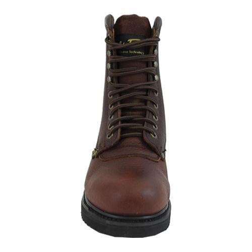 Men's AdTec 1050 Work Boots 10in Steel Toe Brown - Thumbnail 2