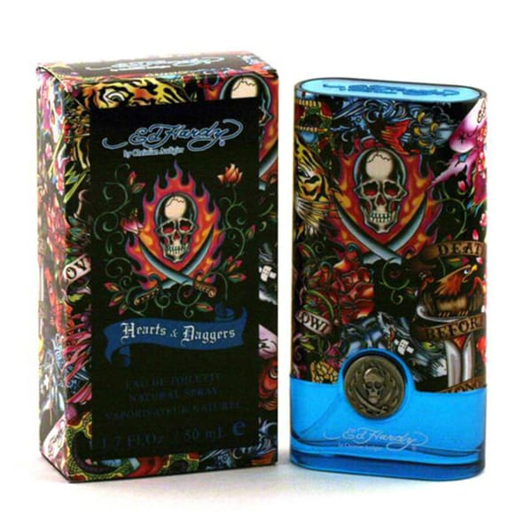 Ed Hardy By For Men Eau De Toilette Spray 3 4 Ounces: Shop Ed Hardy Hearts And Daggers Men's 1.7-ounce Eau De Toilette Spray