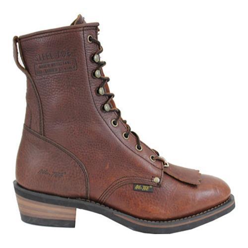Men's AdTec 1174 Packer Boots 9in Steel Toe Brown - Thumbnail 1