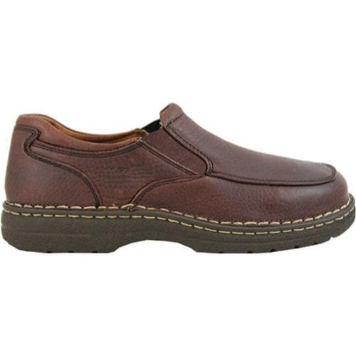 Men's AdTec 1412 Comfort Gold Casual Slip-On Brown - Thumbnail 1