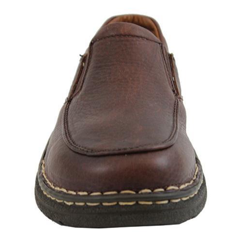 Men's AdTec 1412 Comfort Gold Casual Slip-On Brown - Thumbnail 2