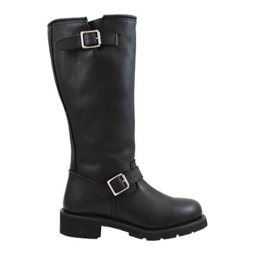 Men's AdTec 1443 Engineer Boots 16in Black - Thumbnail 1