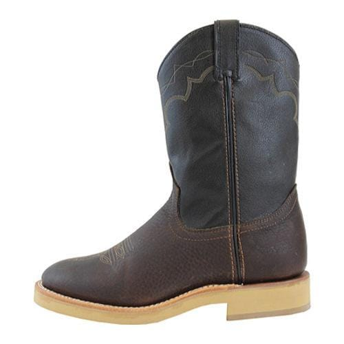 Men's AdTec 1503 Roper Boots 10in Black/Brown