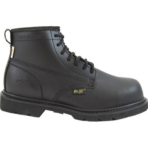 Men's AdTec 1587 Uniform Boots 6in Black - Thumbnail 1