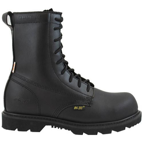 Men's AdTec 1588 Uniform Boots 8in Black - Thumbnail 1
