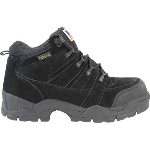 Men's AdTec 1835 Hiker 6in Steel Toe Black - Thumbnail 1