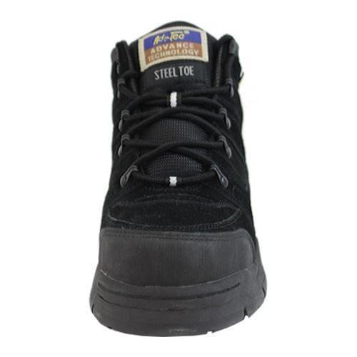 Men's AdTec 1835 Hiker 6in Steel Toe Black - Thumbnail 2
