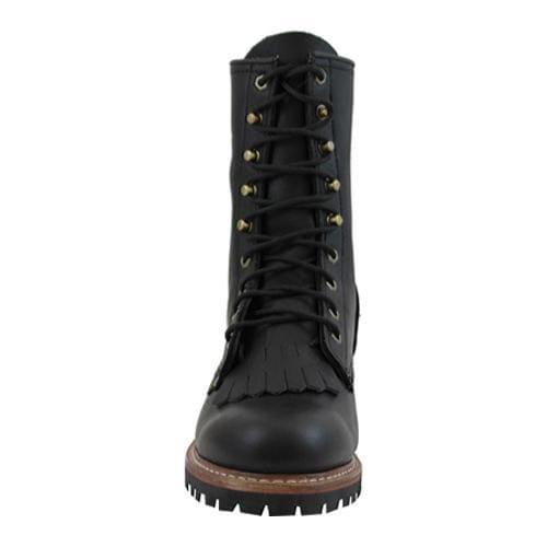 Men's AdTec 1964 Fireman Logger Boots 10in Black