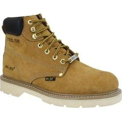 Men's AdTec 1982 Work Boots 6in Steel Toe Tan - Thumbnail 0