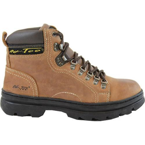 Men's AdTec 1987 Work Boots 6in Brown - Thumbnail 1