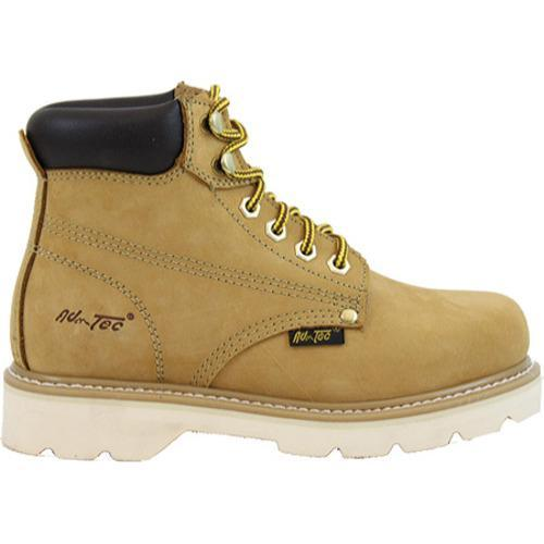 Women's AdTec 2983 Work Boots 6in Tan - Thumbnail 1