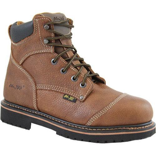 Men's AdTec 9186 Comfort Work Boots 6in Light Brown - Thumbnail 0