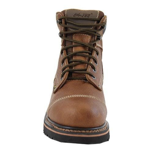 Men's AdTec 9186 Comfort Work Boots 6in Light Brown - Thumbnail 2