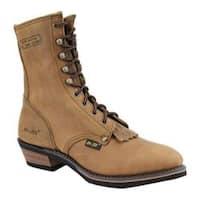Men's AdTec 9224 Packer Boots 9in Tan