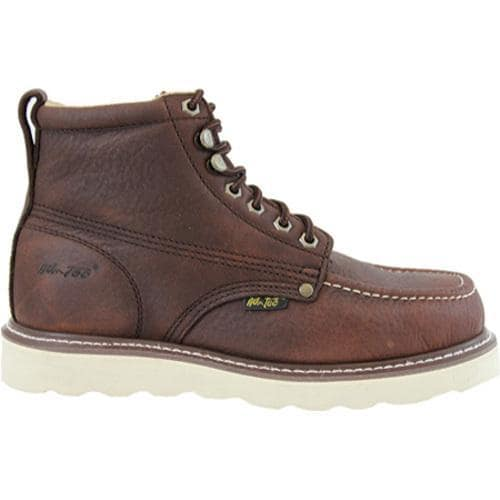 Men's AdTec 9238 Work Boots 6in Brown - Thumbnail 1
