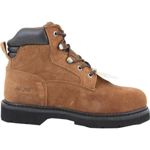 Men's AdTec 9331 Work Boots 6in Steel Toe Brown - Thumbnail 1