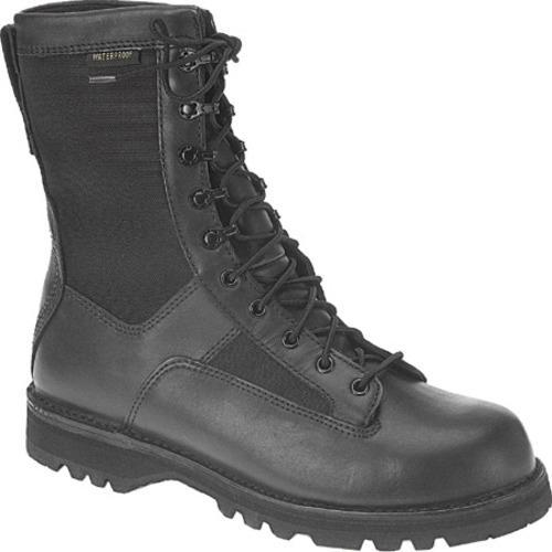 Men's Altama Footwear Black Infantry Combat Waterproof Boot Black Cordura/Leather