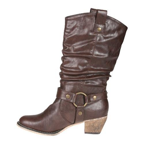 Women's Beston Wild-02 Brown PU - Thumbnail 2