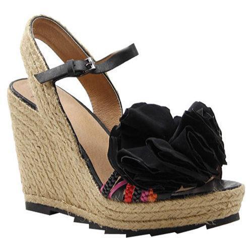 Women's Bronx Charm Ming Black Vachetta Leather