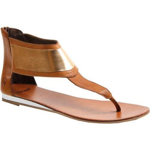 Women's Bronx Happy Feet Toast/Platinum Leather