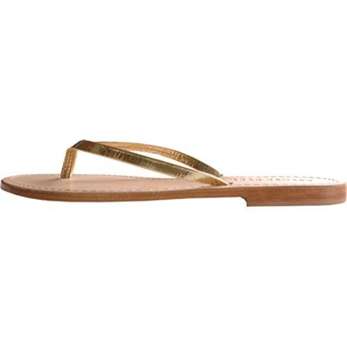 Women's Casual Barn CBS0042 Metallic Gold Leather - Thumbnail 2