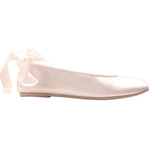 Women's Colorful Creations 635 White Satin