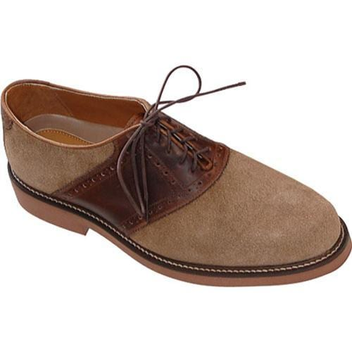 Men's David Spencer Saddle Dirty Buck Suede/Briar Waxy - Thumbnail 0