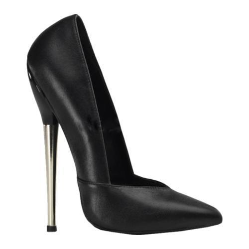 Women's Devious Dagger 03 Black Leather
