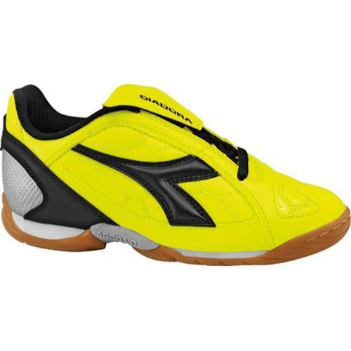 Children's Diadora DD-Eleven ID Jr Yellow Fluorescent/Black - Thumbnail 0