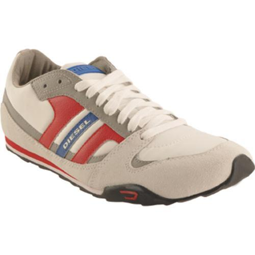 Men's Diesel Long Term Gunner White/Flint Grey/Formula One - Thumbnail 0