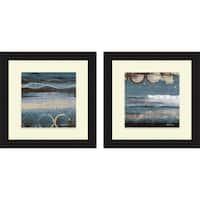 Michael Marcon 'Blueprint I & II' Framed Print