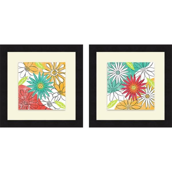 Rebecca Lyon 'Spring Fling & Wild Flowers' Framed Print