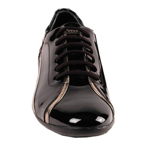 Men's GooDoo Classic 003 Black/Gold Patent Leather - Thumbnail 1