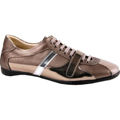 Men's GooDoo Classic 004 Bronze Leather/Silver Patent Leather - Thumbnail 0