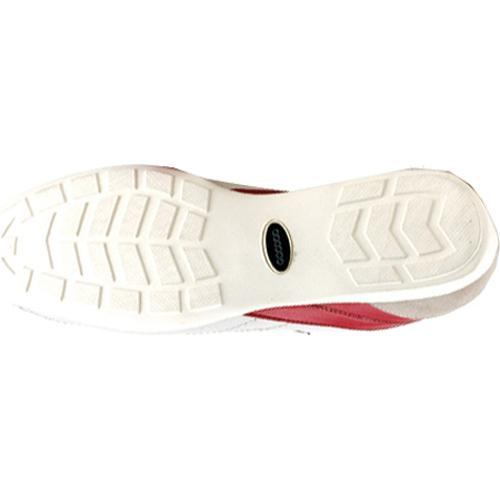 Men's GooDoo Classic 007 White/Navy/Red Leather - Thumbnail 2