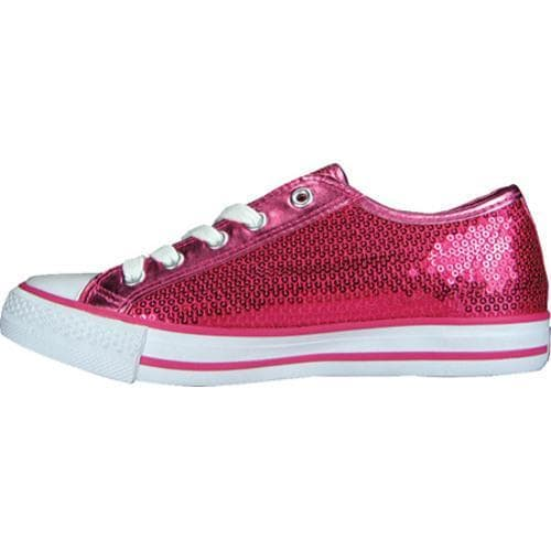 Women's Gotta Flurt Disco Hot Pink Textile/Sequin - Thumbnail 2