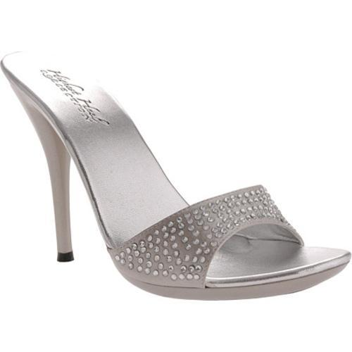 Women's Highest Heel Barbie Silver Satin