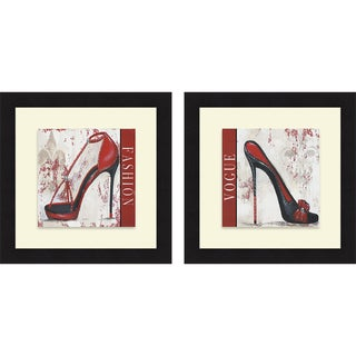 Gina Ritter 'Fashion & Vogue' Framed Print
