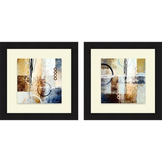 Michael Marcon 'Intersections I & II' Framed Print