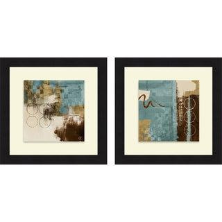 Lanie Loreth 'Wonder I & II' Framed Print