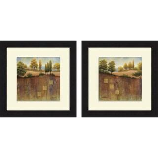 Michael Marcon 'September Vista & Countryside' Framed Print