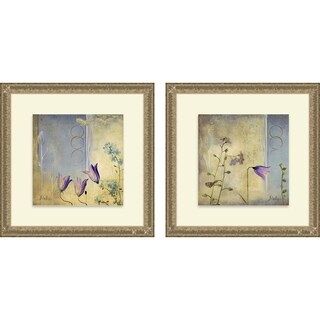Patricia Pinto 'Sunrise I & II' Framed Print