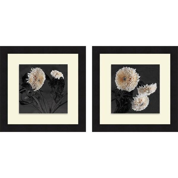 Shelley Lake 'Sunflowers I & II' Framed Print