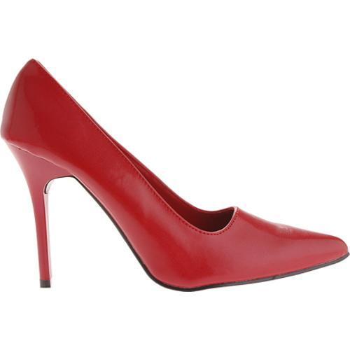 Women's Highest Heel Classic Red PU