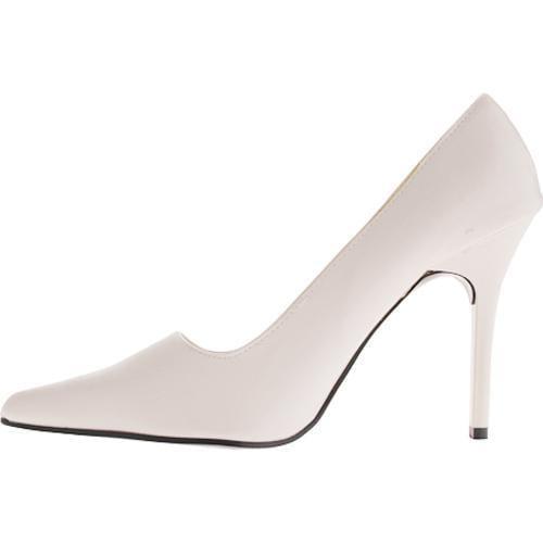 Women's Highest Heel Classic White PU