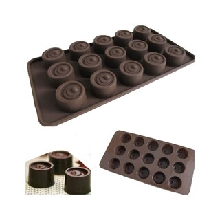 Button shaped Cake/ Chocolate Silicone Mold/ Baking Pans