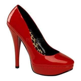 Women's Pin Up Harlow 01 Red Patent Leather