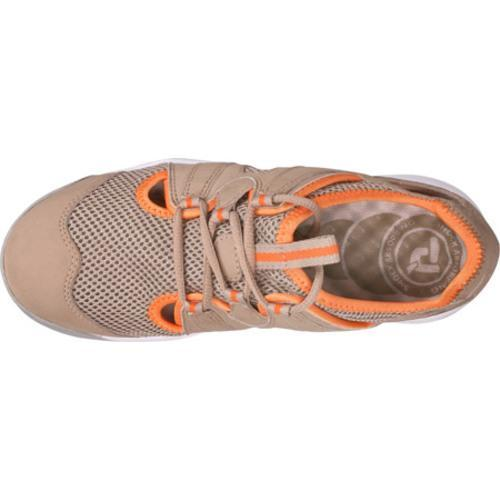 Women's Propet Adventure Taupe/Orange