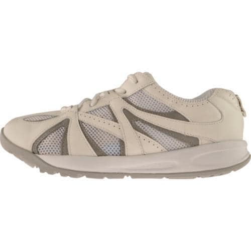 Women's Propet Balance Bar Walker White/Light Grey - Thumbnail 2