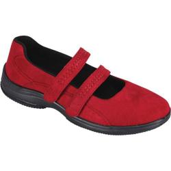 Women's Propet Bilite Walker Red Velour